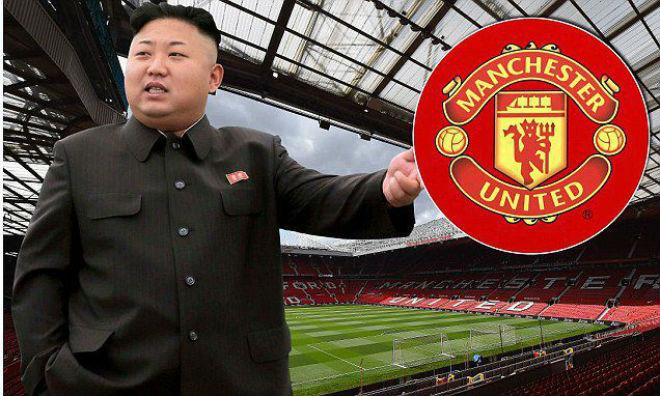 """Ông Kim Jong Un mê MU, chờ """"nhuộm đỏ"""" Premier League"""