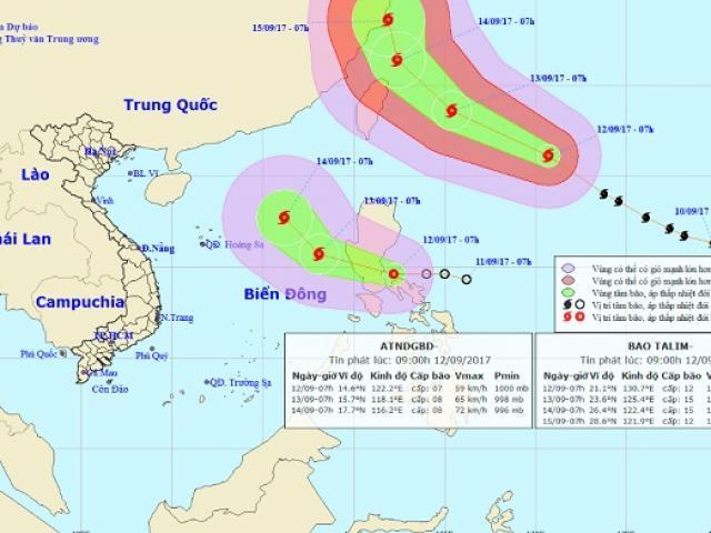 Bão số 10 tăng cấp khủng khiếp, nhắm thẳng vào Thanh Hóa-Hà Tĩnh - 2