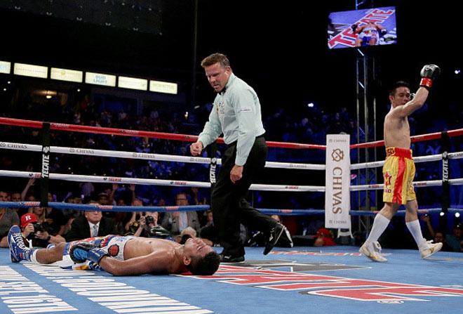Chấn động boxing: Võ sỹ nhặt rác Thái Lan hạ nhà vô địch 4 hạng cân 7