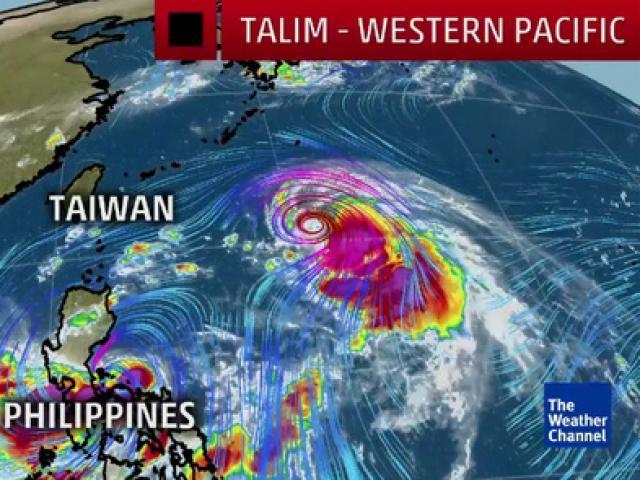 """Trung Quốc """"run rẩy"""" trước siêu bão mạnh như Irma - 2"""