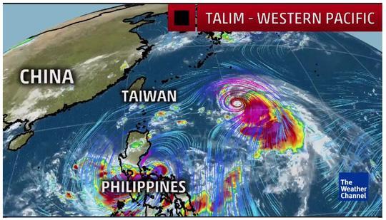 Đến lượt Trung Quốc chạy trốn siêu bão - 1