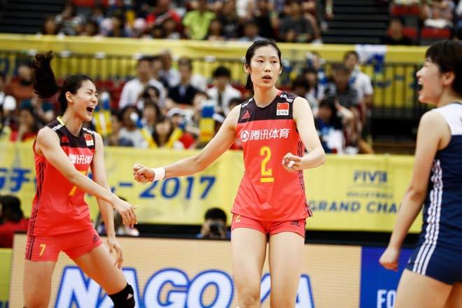 Bóng chuyền nữ số 1 thế giới: Trung Quốc vô địch, hạ Brazil - Mỹ - Nga 1