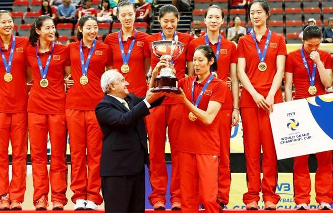 Bóng chuyền nữ số 1 thế giới: Trung Quốc vô địch, hạ Brazil - Mỹ - Nga 2