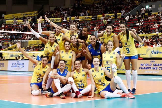 Bóng chuyền nữ số 1 thế giới: Trung Quốc vô địch, hạ Brazil - Mỹ - Nga 4
