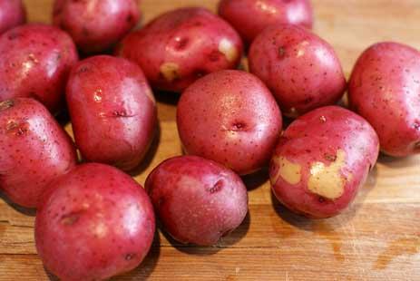 Vén màn bí mật màu sắc tím, đỏ, xanh, đen... của các loại khoai tây - 4