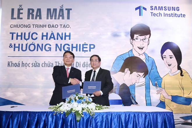 """Samsung ra mắt chương trình đào tạo thực hành & hướng nghiệp """"Samsung Tech Institute"""" - 2"""