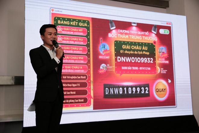 Du khách Sun World trúng thưởng chuyến du lịch vòng quanh thế giới cho cả gia đình - 1