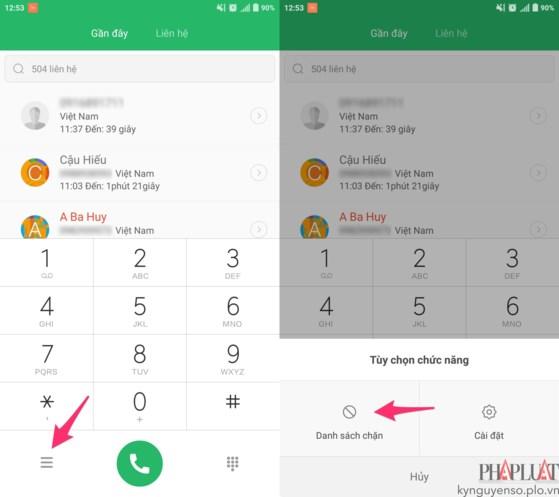 2 cách chặn tin nhắn quảng cáo trên smartphone - 2
