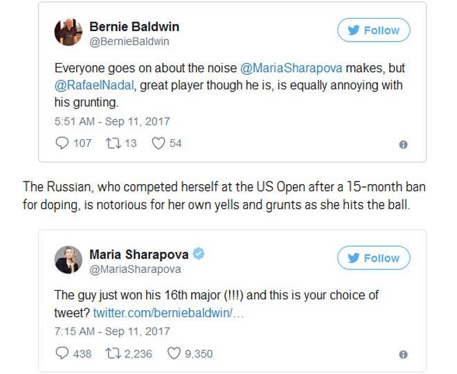 """Fan chê Nadal to mồm, mỹ nhân Sharapova """"đanh đá"""" bênh vực 1"""