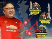 """Bóng đá - Ông Kim Jong Un mê MU, chờ """"nhuộm đỏ"""" Premier League"""