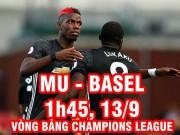 """Bóng đá - MU – Basel: """"Quỷ"""" lộ yếu huyệt, gặp điềm gở Thụy Sĩ"""