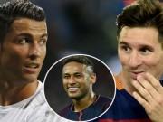 Bóng đá - Vua phá lưới Cúp C1: Neymar sẽ phế truất Ronaldo, Messi?