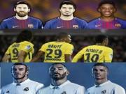 """Bóng đá - Cúp C1: """"Tam tấu"""" 467 triệu euro thách thức quyền lực Barca, Real"""