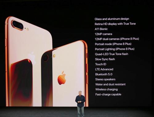 iPhone 8 và 8 Plus trình làng, nhanh hơn, chụp đẹp hơn - 4