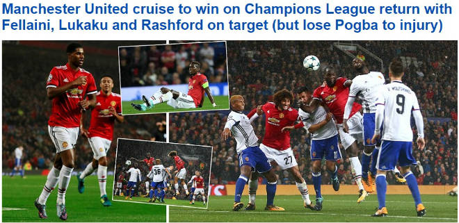 Báo chí Anh: Nổ vang trời MU, Chelsea đại thắng 9 sao - 2