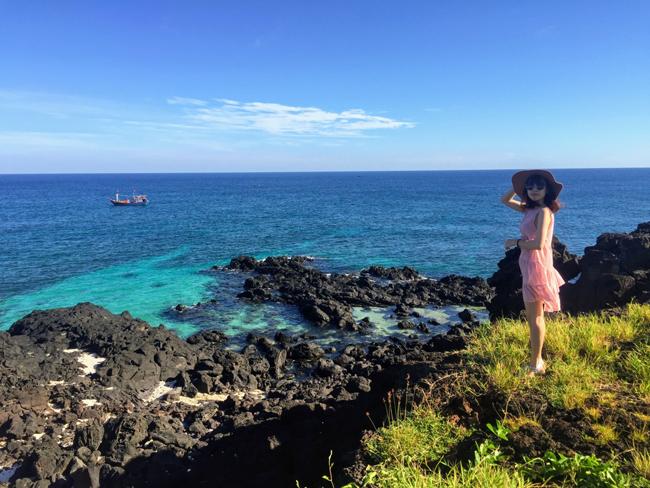 Cô nàng độc thân chia sẻ kinh nghiệm du lịch Lý Sơn tự túc chỉ với 3 triệu đồng - 1