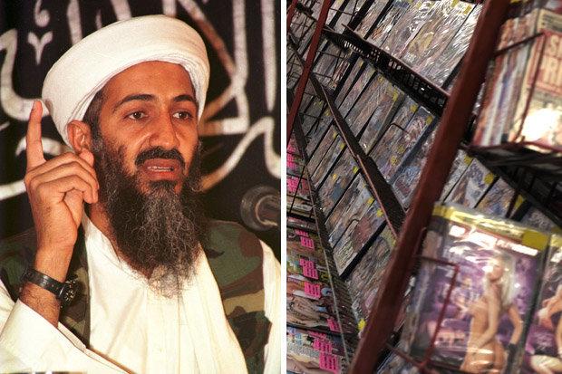 """Bin Laden có cả kho phim """"người lớn"""" khi bị tiêu diệt - ảnh 1"""