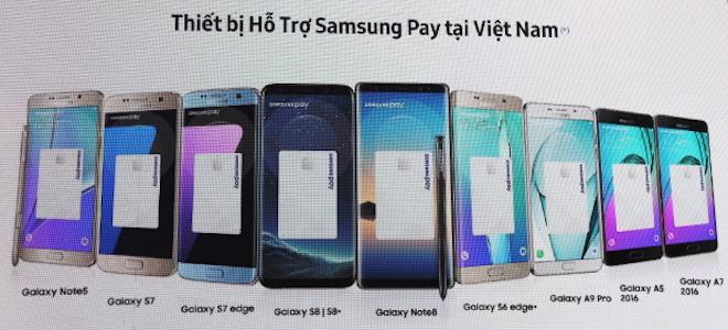 """Samsung """"hô biến"""" smartphone thành thẻ ATM để quẹt máy POS tại VN - 2"""