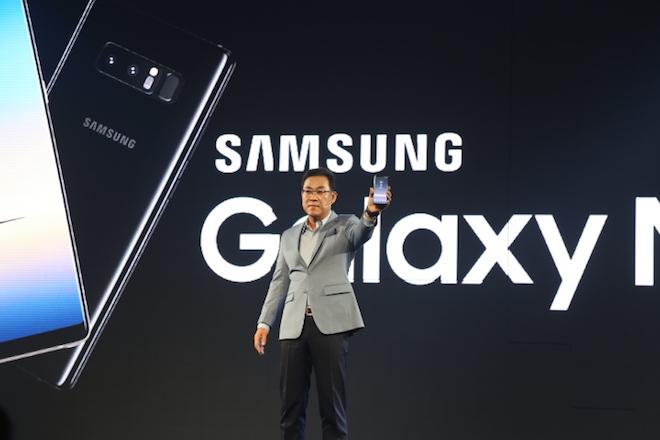 Samsung công bố giá và ngày lên kệ của Galaxy Note8 tại Việt Nam - 1