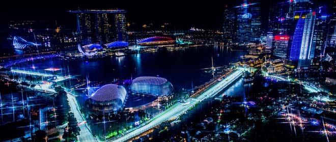Đua xe F1, Singapore GP: Cuộc chiến đường phố, sắc đỏ lên ngôi? 1
