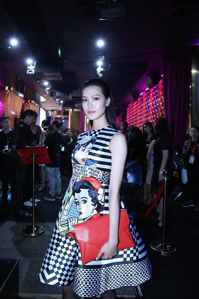 """""""Kate Moss"""" Việt hội ngộ Hoa hậu cao nhất Việt Nam tại sự kiện - 4"""