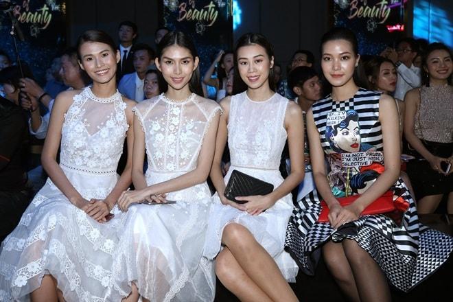 """""""Kate Moss"""" Việt hội ngộ Hoa hậu cao nhất Việt Nam tại sự kiện - 6"""