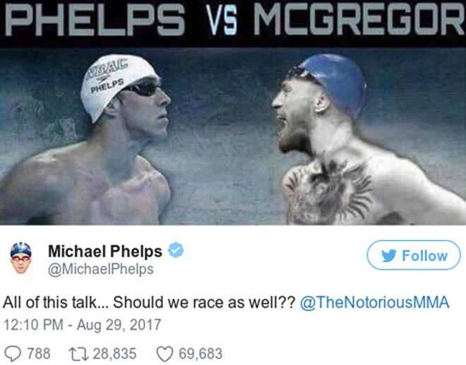 M.Phelps đua với cá mập, đấu McGregor: Khán giả sốc lần 2 - 2