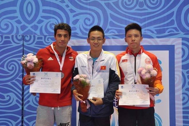 Tin thể thao HOT 13/9: Quang Nhật giành 3 HCV giải trẻ châu Á 1