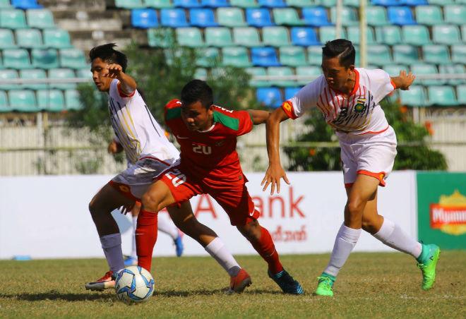 TRỰC TIẾP U18 Myanmar - U18 Việt Nam: Chờ đối thủ tiếp tục sa bẫy 3