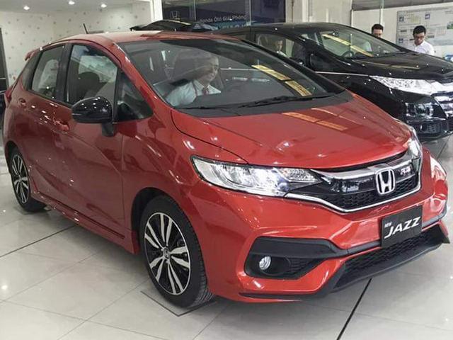 Honda Jazz ở Việt Nam ra đại lý, giá 600 triệu đồng?