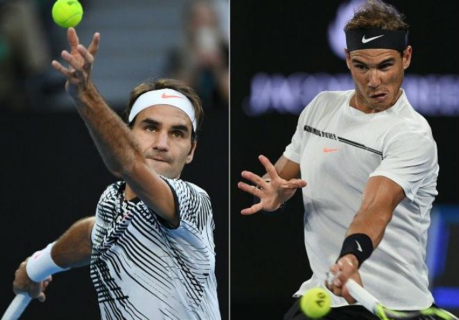 Federer đấu Nadal 2017 hay nhất lịch sử thể thao thế giới 1