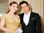 Hôn phu kém tuổi hộ tống Lâm Chí Khanh đi sự kiện