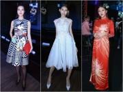 """"""" Kate Moss """"  Việt hội ngộ Hoa hậu cao nhất Việt Nam tại sự kiện"""