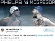 Thể thao - M.Phelps đua với cá mập, đấu McGregor: Khán giả sốc lần 2