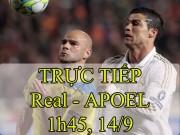 Bóng đá - Chi tiết Real Madrid - APOEL: Thế trận nhàn nhã (KT)