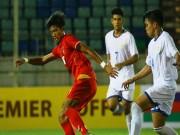 """Bóng đá - U18 Myanmar vào bóng như """"đốn củi"""", U18 Việt Nam đau đớn nằm sân"""