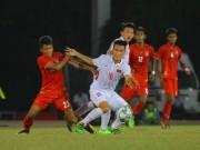 Các giải bóng đá khác - U18 Myanmar - U18 Việt Nam: Phủ đầu ấn tượng, kết thúc đắng ngắt