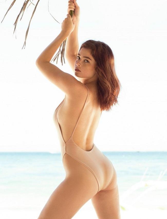Người mẫu Andi Eigenmann (sinh năm 1990) xuất hiện trên tạp chí đàn ông FHM Philippines hồi tháng 5.2016. & nbsp;