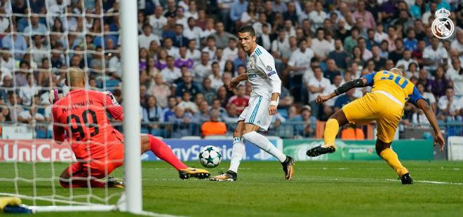 Video, kết quả bóng đá Real Madrid - APOEL: Ronaldo xuất thần, niềm vui đến sớm (hiệp 1) - ảnh 1