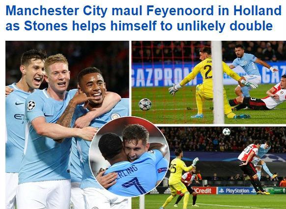 """Báo chí Anh: Tottenham & Man City được """"tung lên mây"""", quá tiếc cho Liverpool - 3"""