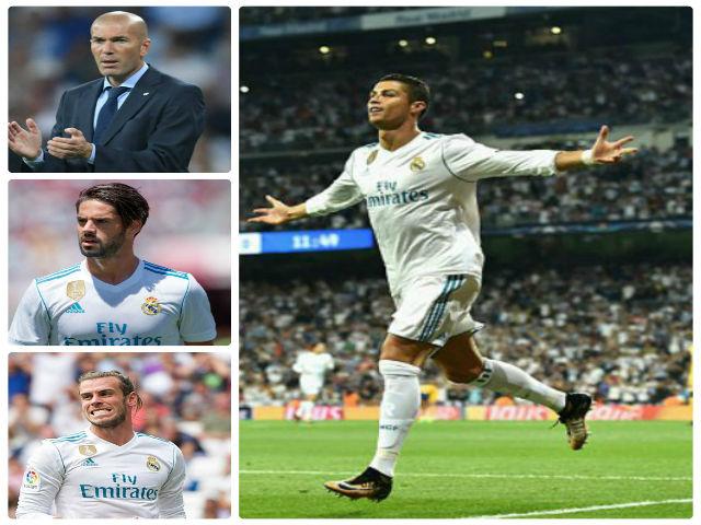 """Cúp C1: Real đại thắng, Zidane """"đòi"""" poker cho Ronaldo - 2"""