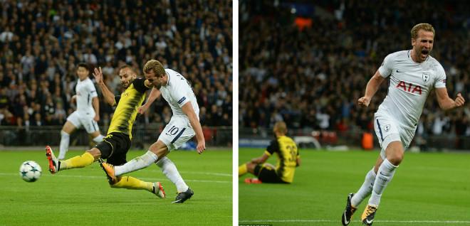 Siêu tiền đạo Champions League rực sáng: Ronaldo hòa nhịp Kane, Aguero - 7