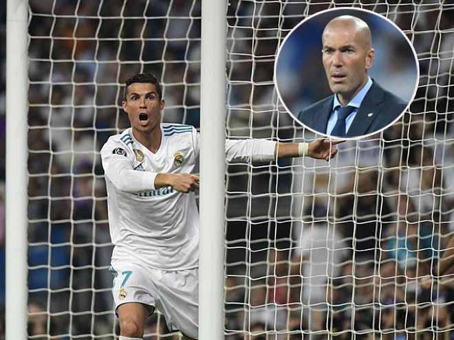 """Cúp C1: Real đại thắng, Zidane """"đòi"""" poker cho Ronaldo - 1"""