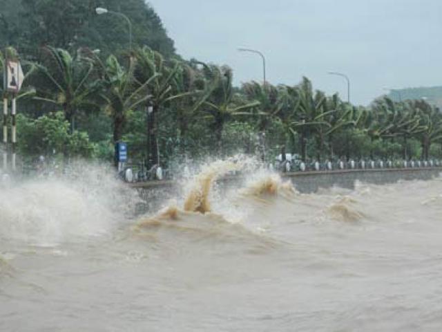 Bản tin thời tiết 7h30: Bão số 10 sắp đổ bộ đất liền, miền Trung đang mưa như trút nước - 2