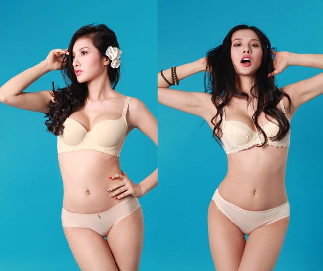 Ảnh diện nội y màu nude, trong suốt hiếm hoi của mỹ nhân Việt - 8