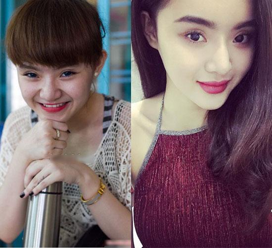 """Không kém chị, em gái Angela Phương Trinh cũng có bờ môi """"ảo thuật"""""""