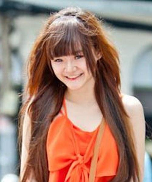 """Không kém chị, em gái Angela Phương Trinh cũng có bờ môi """"ảo thuật"""" - 8"""