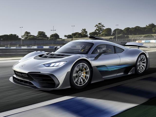Mercedes-AMG Project One: Siêu phẩm tốc độ - ảnh 1