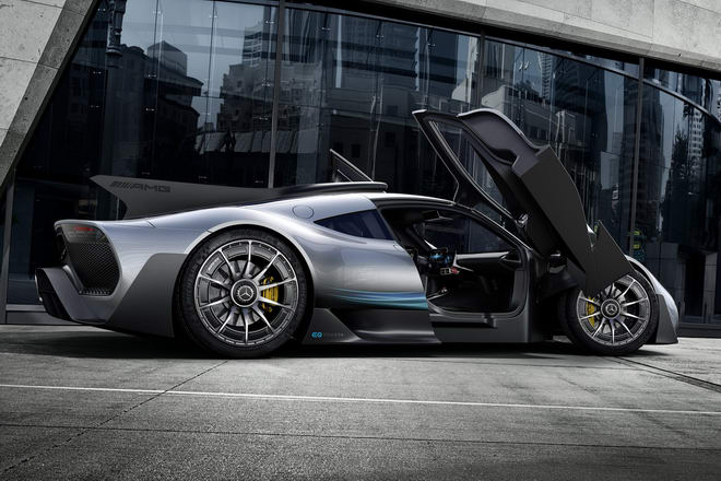 Mercedes-AMG Project One: Siêu phẩm tốc độ - 2