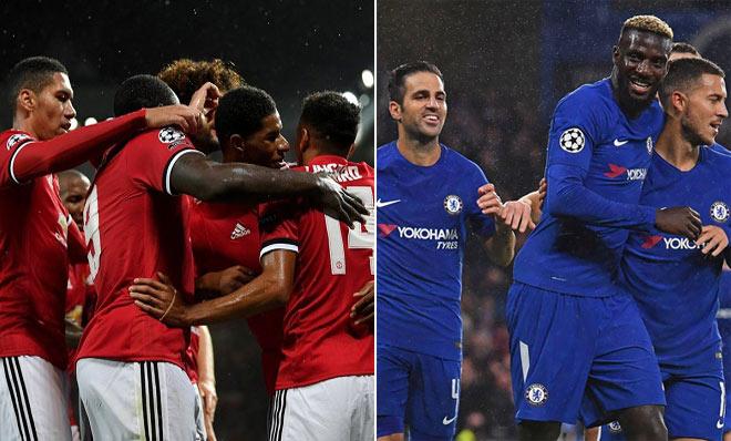 """Đại gia Anh bùng nổ ở Cup C1: MU, Chelsea vẫn là """"hạng 2"""" 1"""